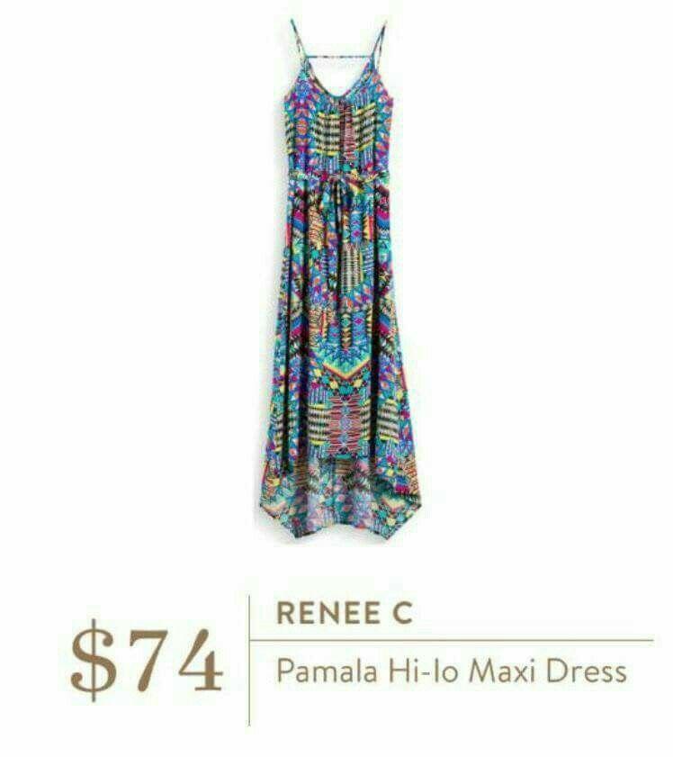 Renee c racerback maxi dress
