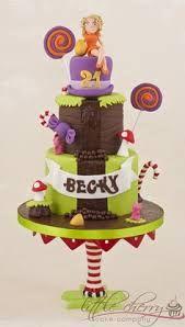 willy wonka cake - Google Search