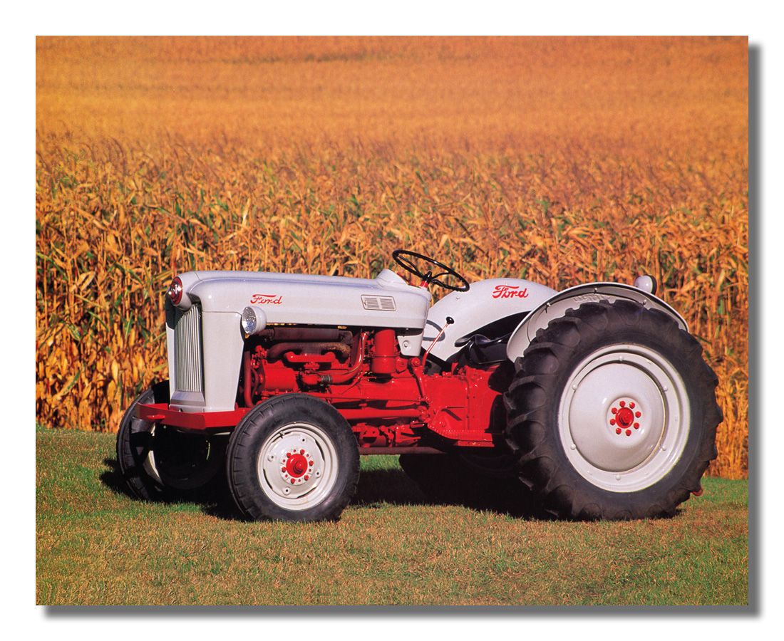 1953 Golden Jubilee Naa Ford Farm Tractor Tractors Tractor
