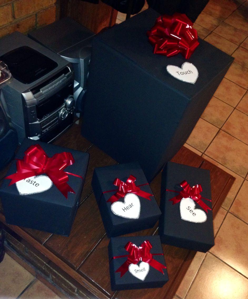 Anniversary Gift For My Boyfriend 5 Senses Boxesa I See More About Anniversary Gifts Boyfriends And Anniversaries Boyfriend Anniversary Gifts Gifts For My Boyfriend Anniversary Gifts
