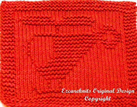 Knitting Cloth Pattern  CHOPPER  PDF  Instant by ezcareknits, $3.00