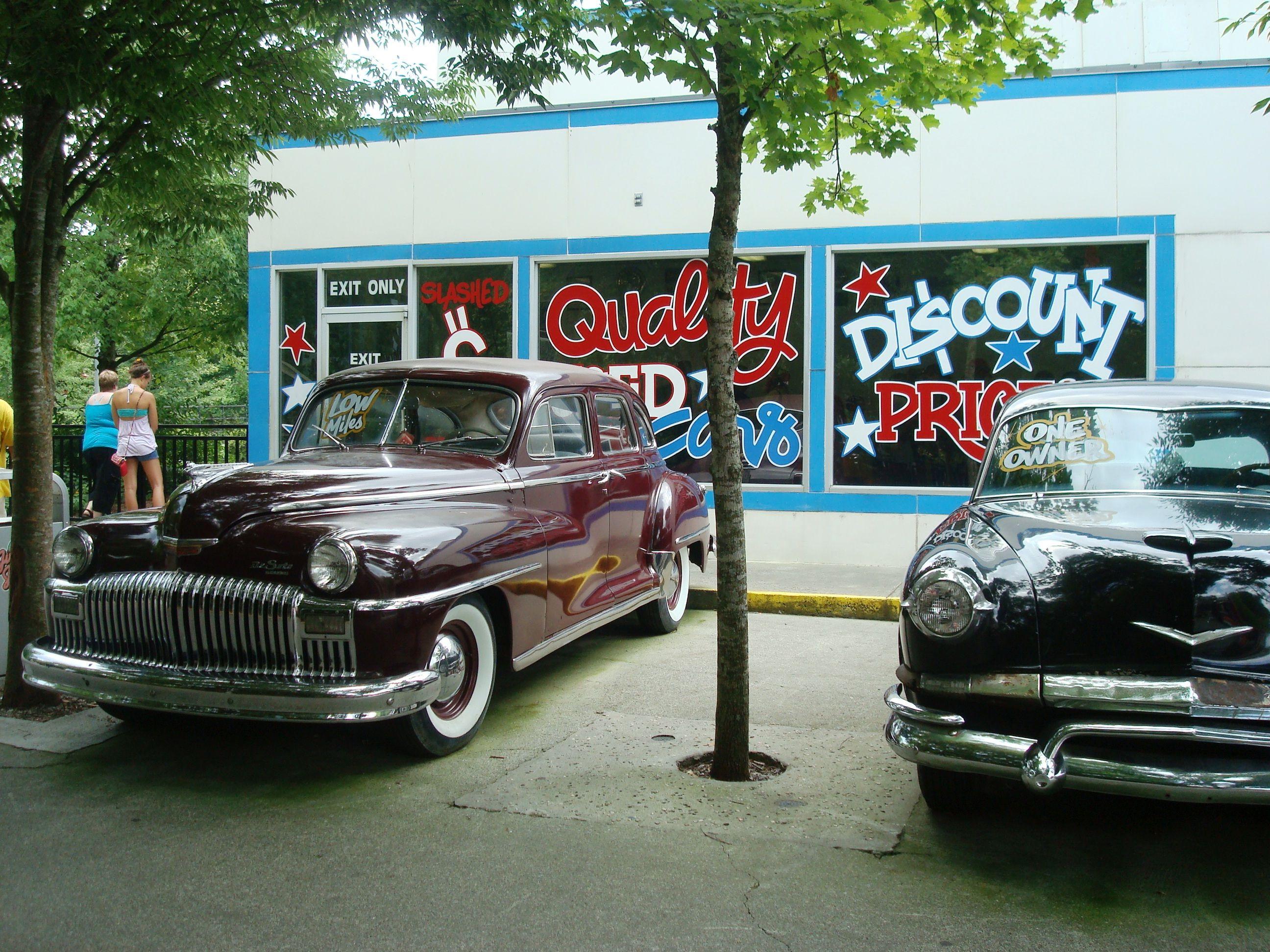 antique car at Dollywood, Gatlinburg, TN   Transportation New and ...