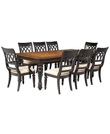 1799 Macy S Dakota Dining Room Furniture 9 P Dining Room