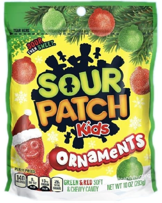 New Sour Patch Kids Ornaments Will Be Out For The 2020 Holiday Season Sour Patch Kids Sour Patch Kids Candy