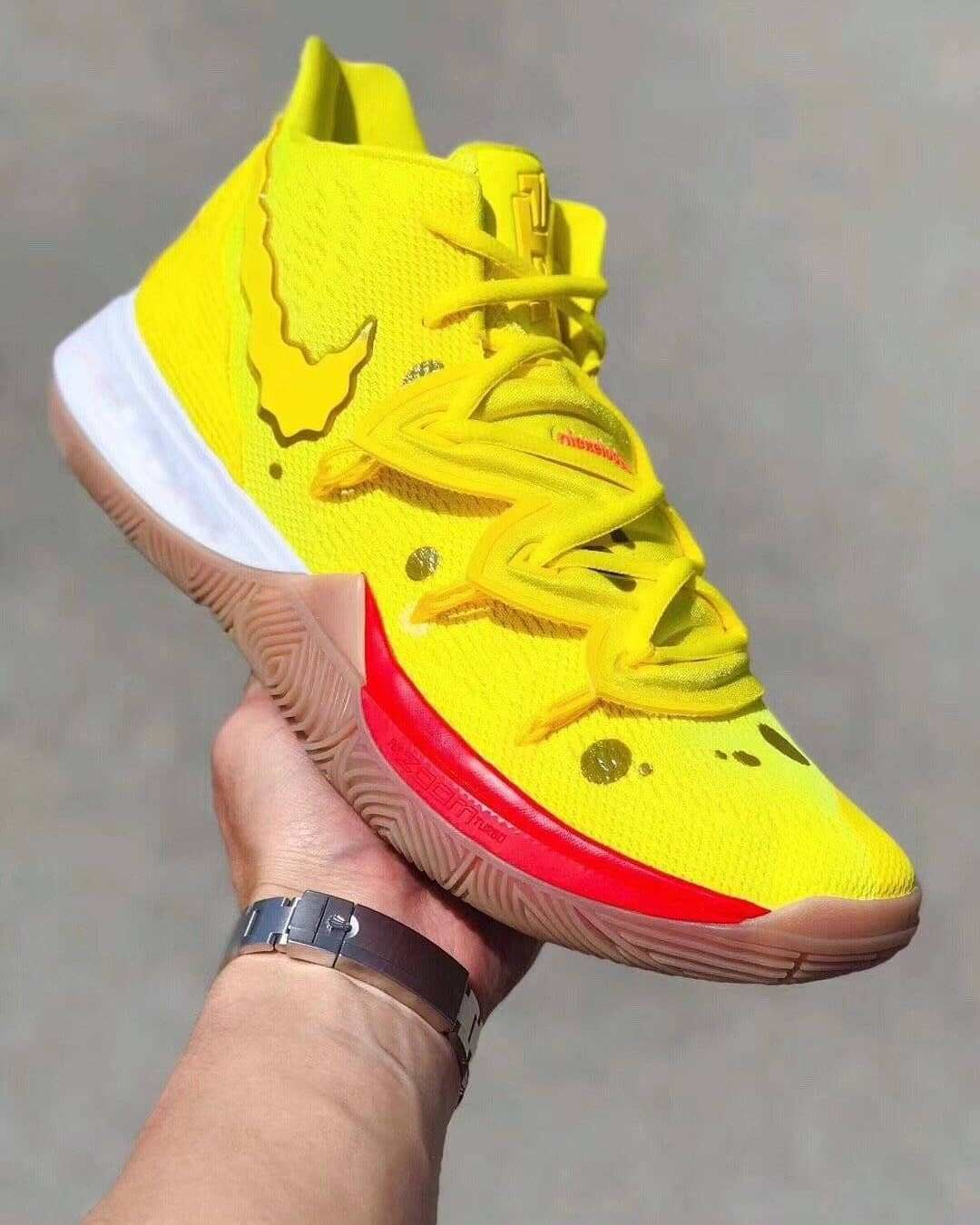 Kyrie Irving Teams Up with SpongeBob SquarePants for Sneaker