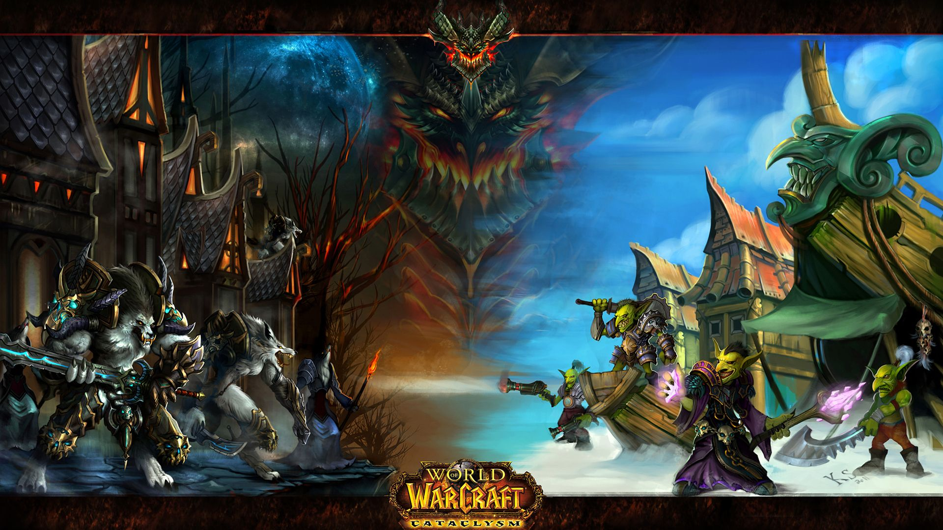 Video Game world of warcraft Wallpaper World of