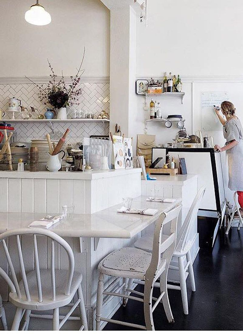 Cool Scandi Luncheonette In Portland Cool Scandi