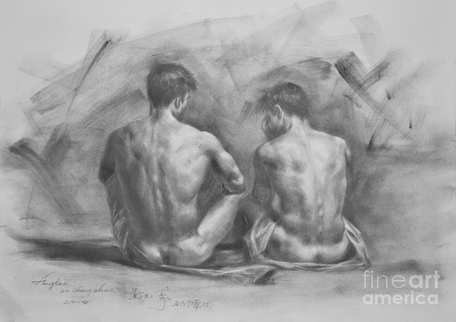 nude fucking pencil sketch
