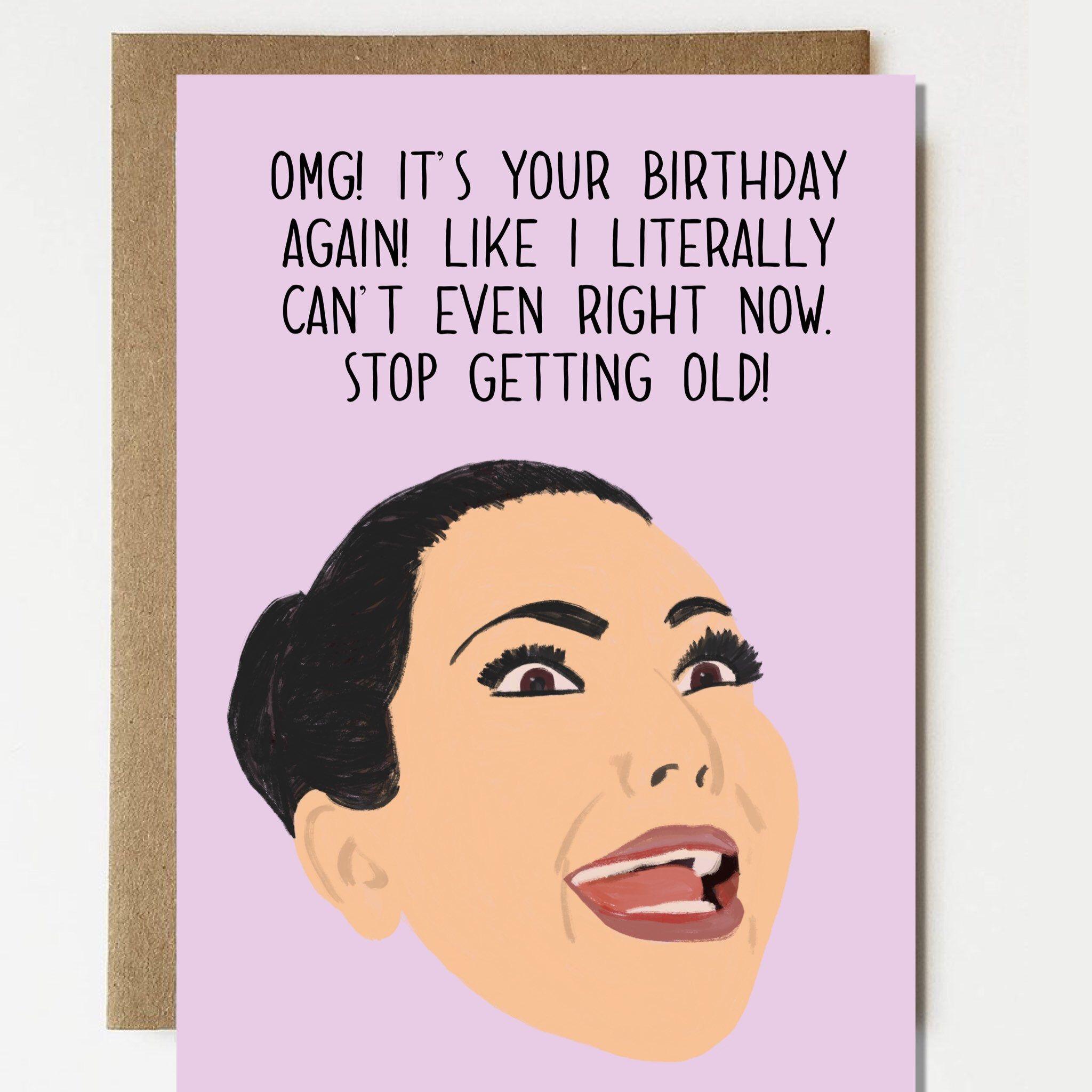 Funny Rihanna Wild Wild Wild Happy Birthday Card Card