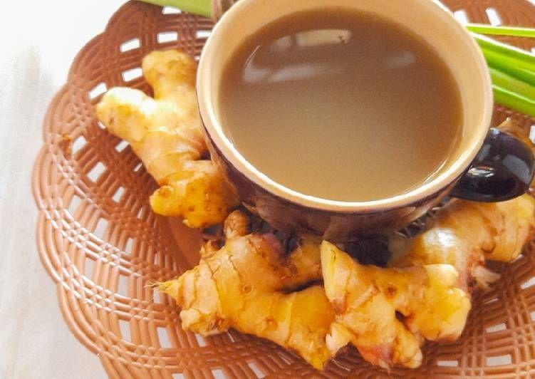 Resep Wedang Jahe Serai Sederhana Resep Di 2020 Wedang Jahe Makanan Masakan Indonesia