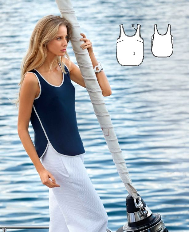 To the Sea: 7 New Women\'s Sewing Patterns | Pinterest | Bekleidung ...