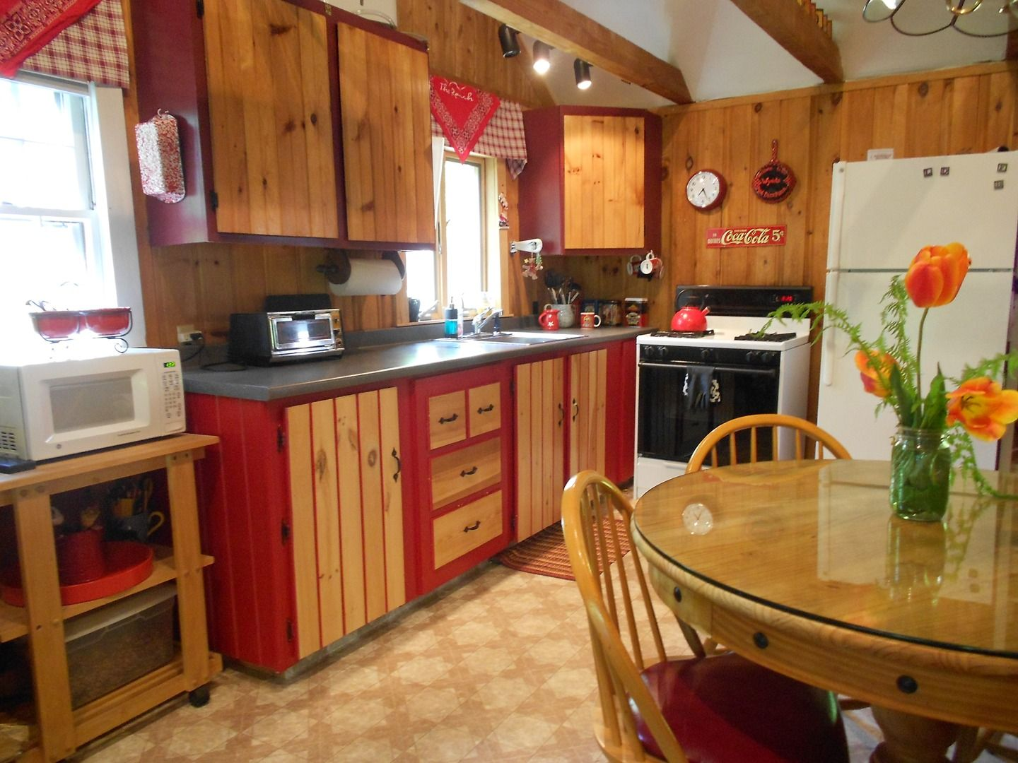 For sale. Norway Maine in Oxford Hills. Gas stove, wood ...