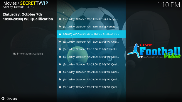 How To Watch Football World Cup 2018 Qualifiers Matches On Kodi
