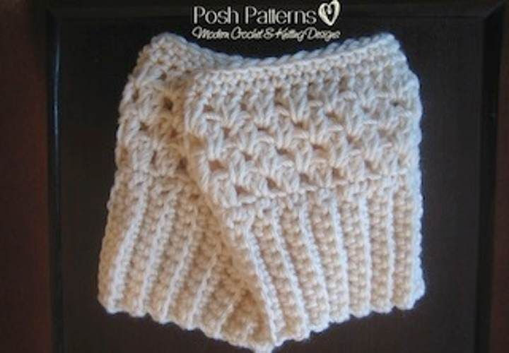 Free Crochet Boot Cuffs Pattern | Puntadas, Puntadas de ganchillo y ...