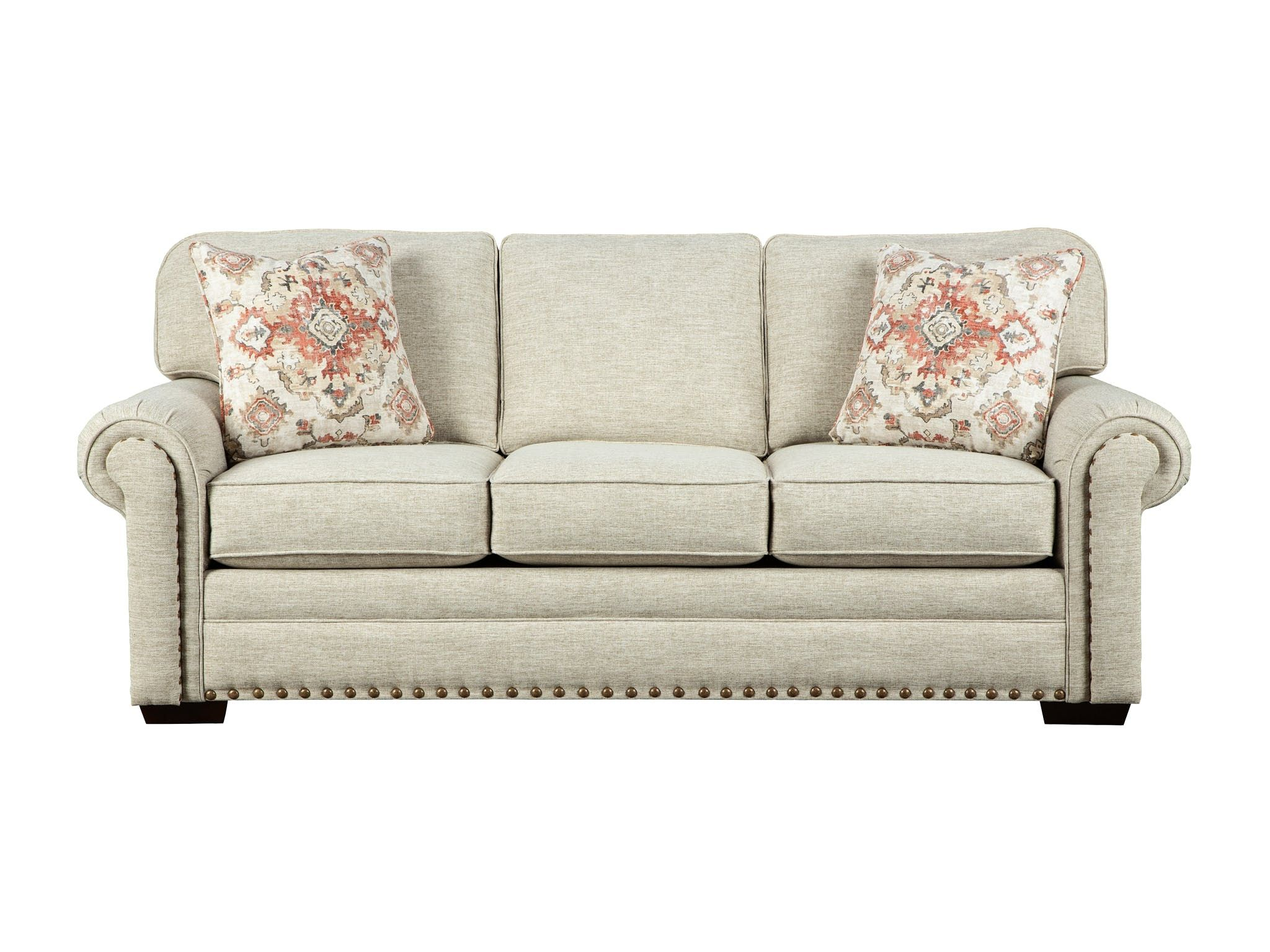 Casual Sophistication Comes To Life In This Updated Classic Sofa