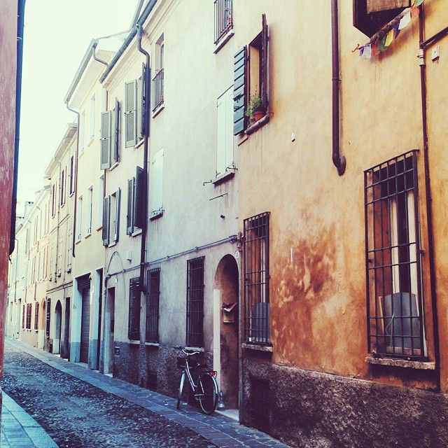 The streets of #Mantua - Instagram by travelita