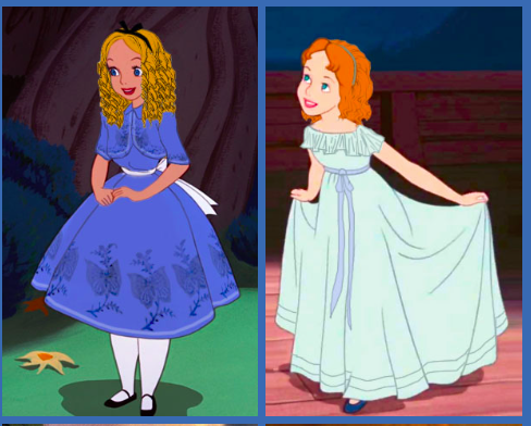 Historically accurate Alice and Wendy