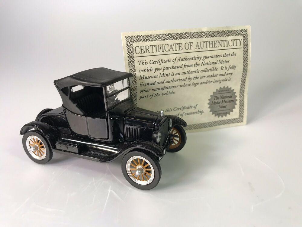1925 Ford Model T Diecast Car Die Cast National Motor Museum