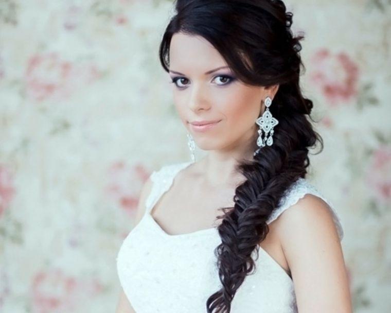 peinados medio recogidos con trenzas modernas Belleza Pinterest