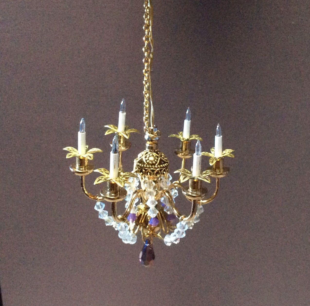 112 scale mini chandelier by nina eary miniature lamps 112 scale mini chandelier by nina eary arubaitofo Images