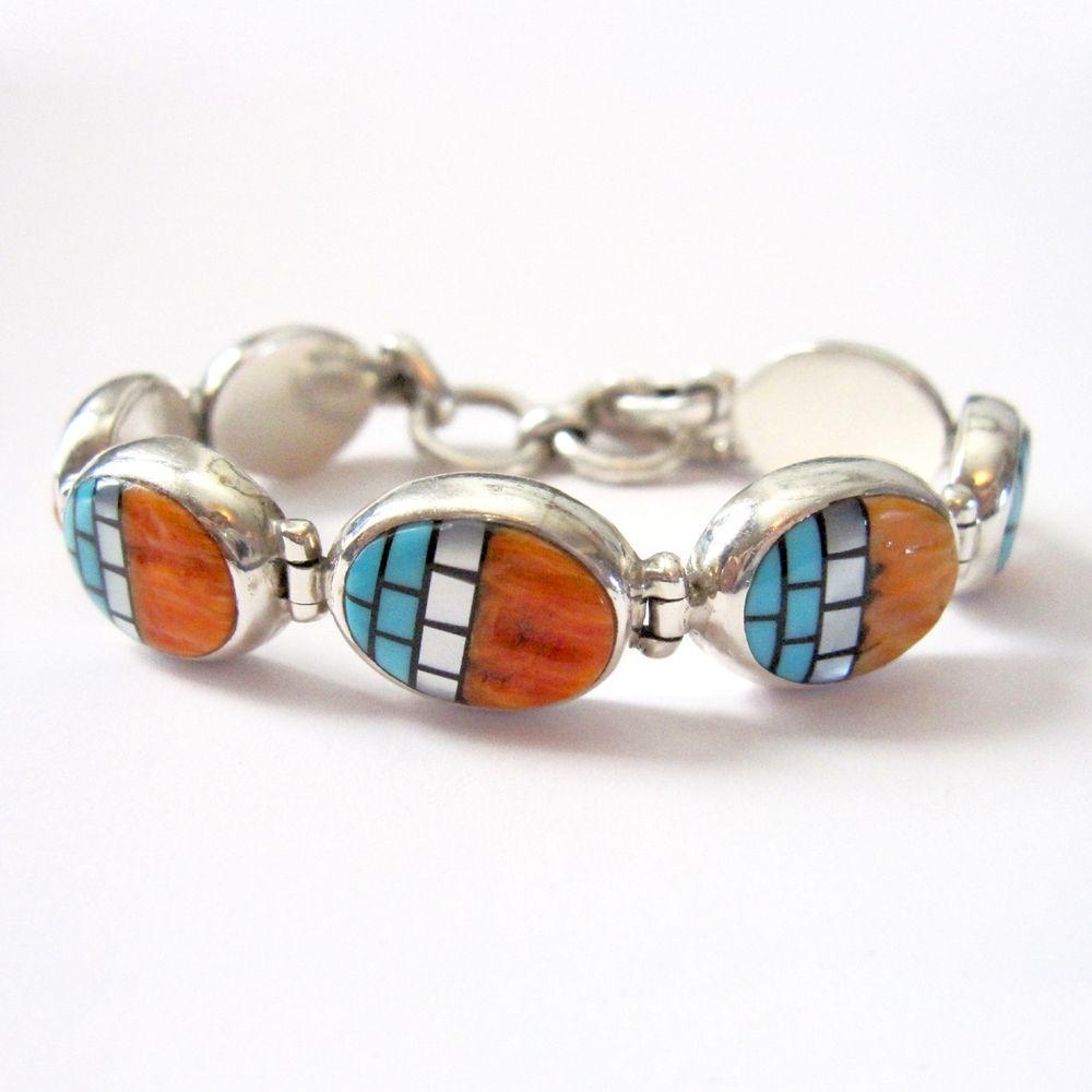 Santo Domingo Link Bracelet by Beyond Buckskin Boutique