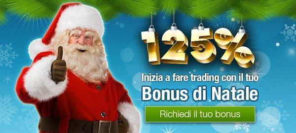Bonus speciale del 125% per i clienti di 24Winner