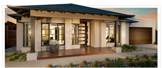 modern single story home designs single story contemporary homes - Single Story Home Exterior