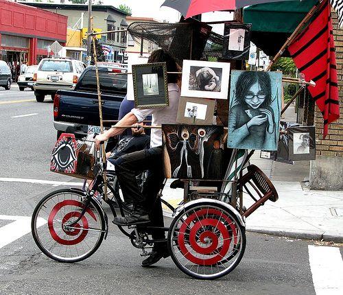 Mobile art gallery-Portland