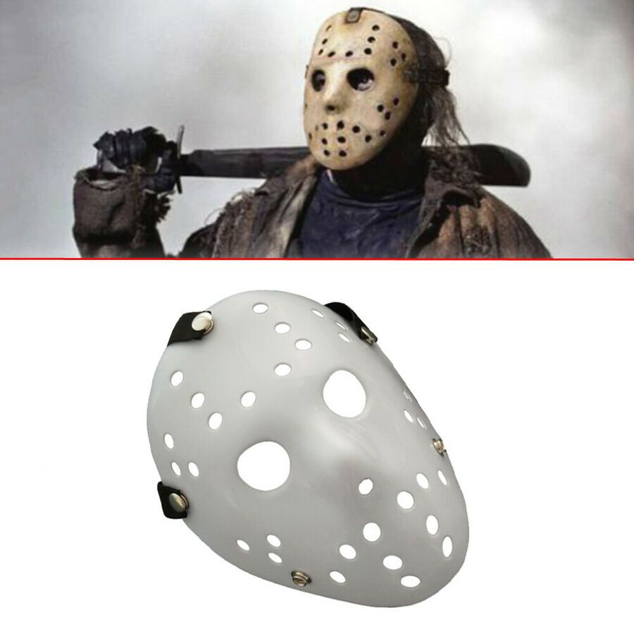 Mask Jason Voorhees Friday The 13th Horror Movie Halloween Mens Fancy Costume