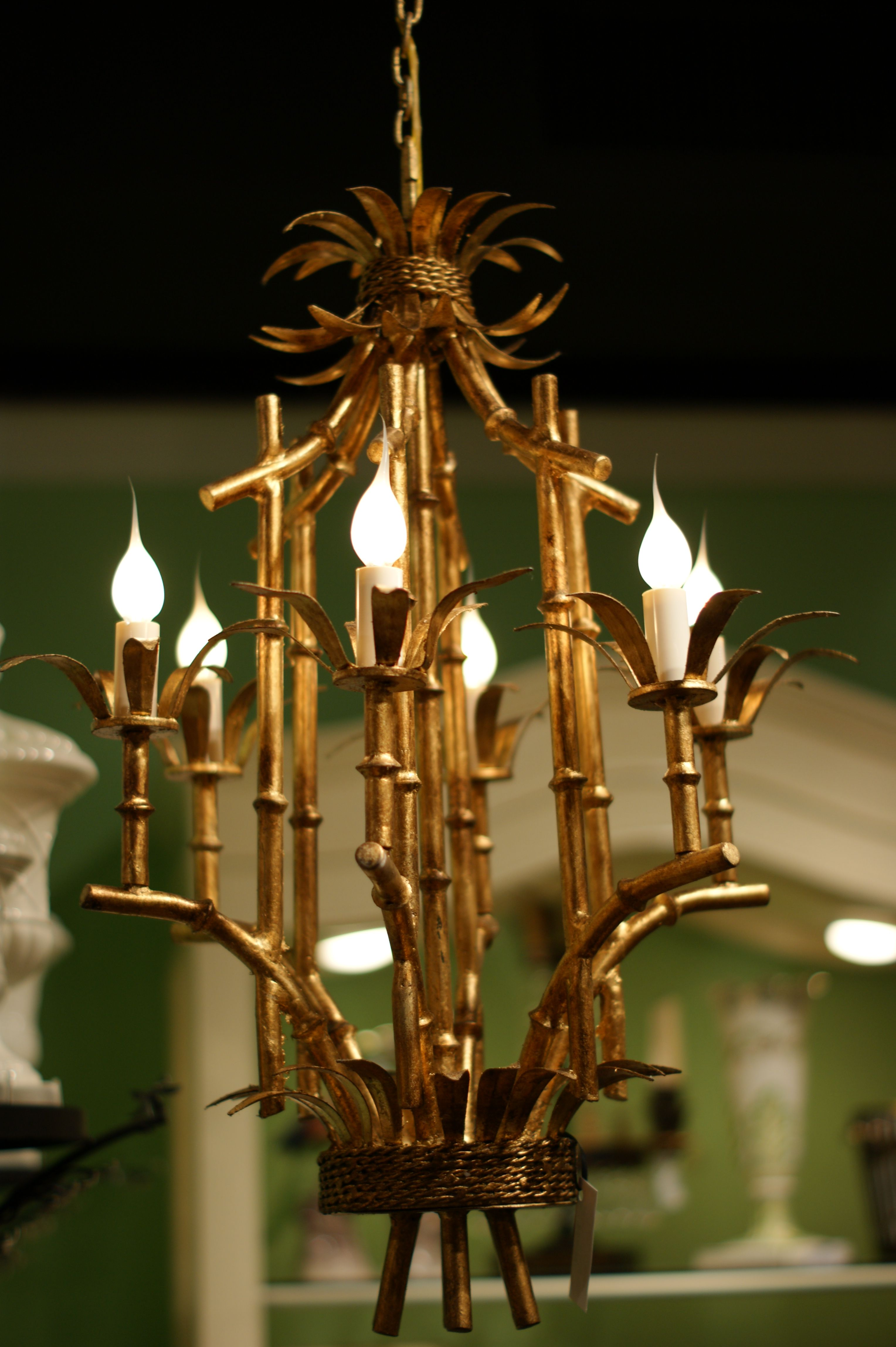 Cool bamboo chandelier ships from williamsburg va adorable and cool bamboo chandelier ships from williamsburg va adorable and affordable aloadofball Image collections