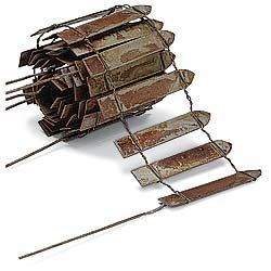 fairy garden furniture fencing so easy to make wire popsicle sticks your imagination - Easy Garden Furniture To Make