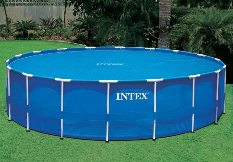 Intex Round Solar Cover Shop In 2019 Pool Landscaping