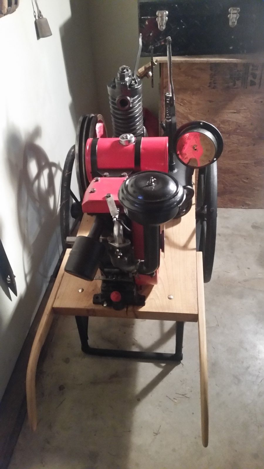 Vintage Briggs and Stratton Motor Curtis Air Compressor