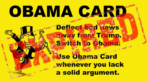 Image result for what about obama card