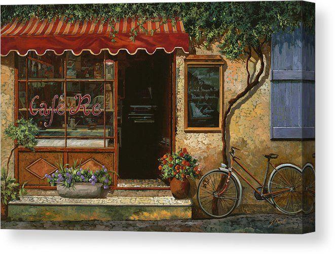 caffe Re Canvas Print / Canvas Art by Guido Borelli
