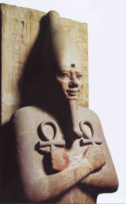 Senwosret I as Osiris
