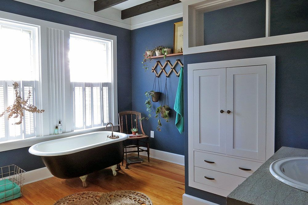 Design Sponge Bathrooms Before & After A Hotelier's Centuryold Retreat Design*sponge