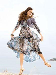 d52226f9a026 burda style  Damen - Kleider - Maxi-Kleider - Maxi-Kleid - V-Ausschnitt    Schnittmuster   Pinterest   Maxi kleider, Damen kleider und Burda style