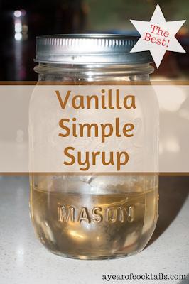 Photo of Homemade Vanilla Simple Syrup