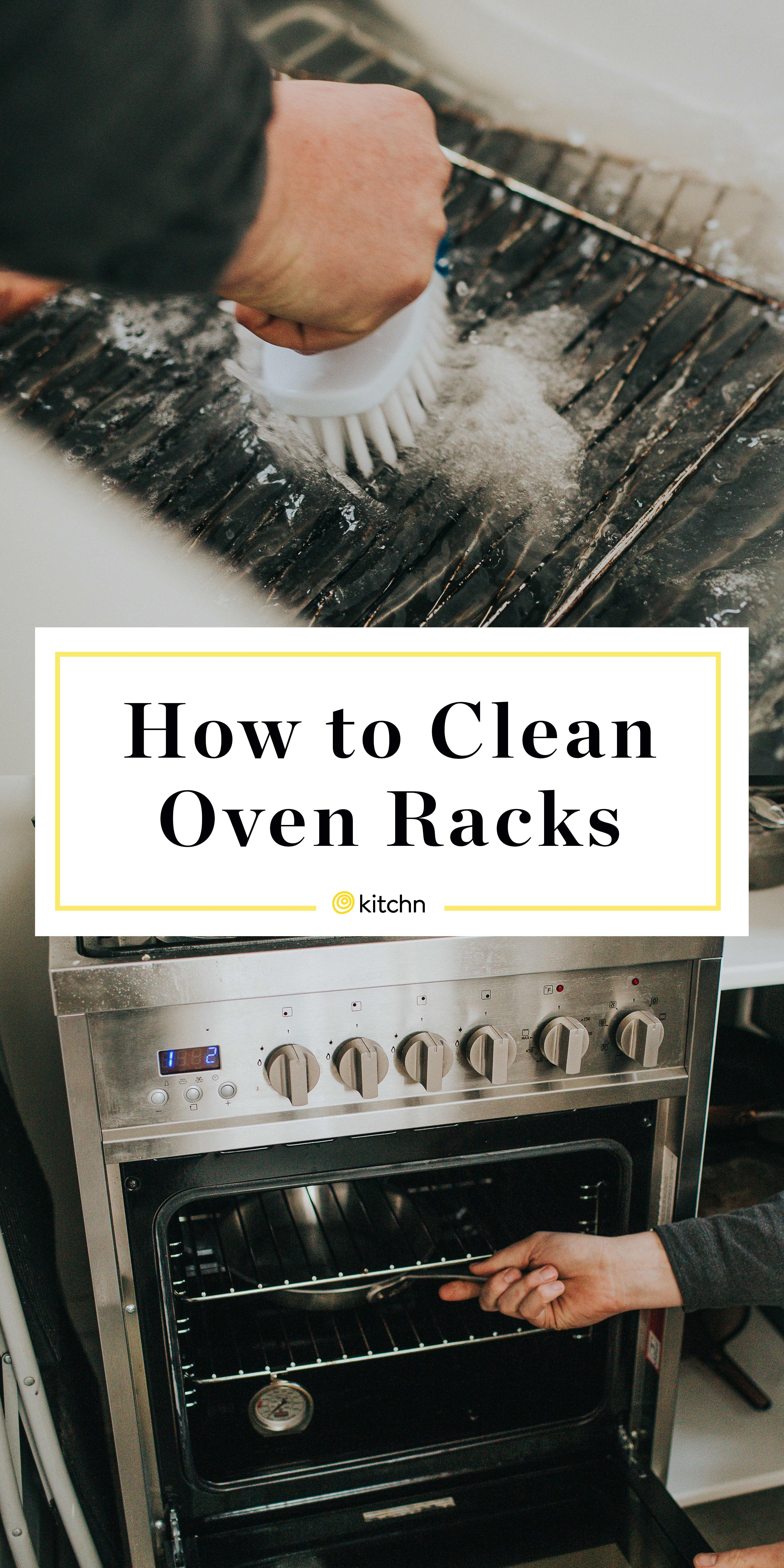 How to clean oven racks in the bathtub cleaning oven