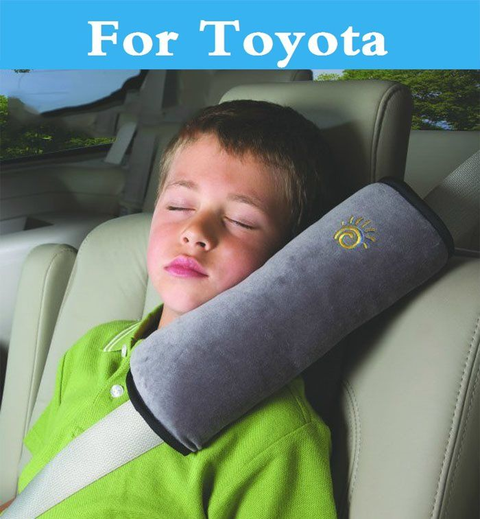 Soft Child Babies Car Seat Belt Pillow Adjustable Pad Cover Cushion Head Support