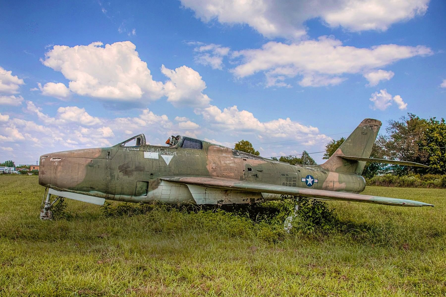 F84F when we first found it in a field and now as it is