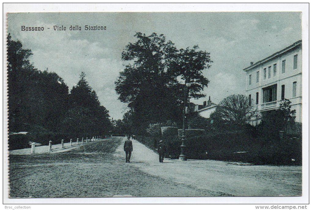Bassano, Viale delle Stazione, 1918