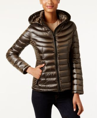Calvin Klein Coat1 Puffer Hooded Packable WH9IDE2Y