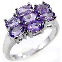 2.25ctw Genuine Amethyst & Solid .925 Sterling Silver Gemstone Ring (SJR10129A). Buy Now: http://www.sterlingsilverjewelry.tv/genuine-amethyst-925-sterling-silver-gemstone-ring-sjr10129a.html #SterlingSilverJewelry #silverrings #sterlingsilverrings #ringsilver #silverringdesigns #handmaderings #silverringssterling #Rings #RingsJewelry