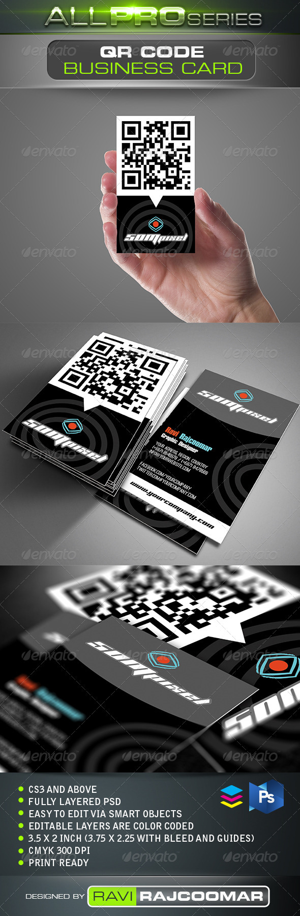 QR Code Business Card | Qr code business card, Qr codes and Business ...