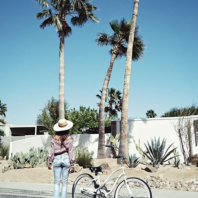 Morning bike rides in PS before the festival.  @levis  #liveinlevis