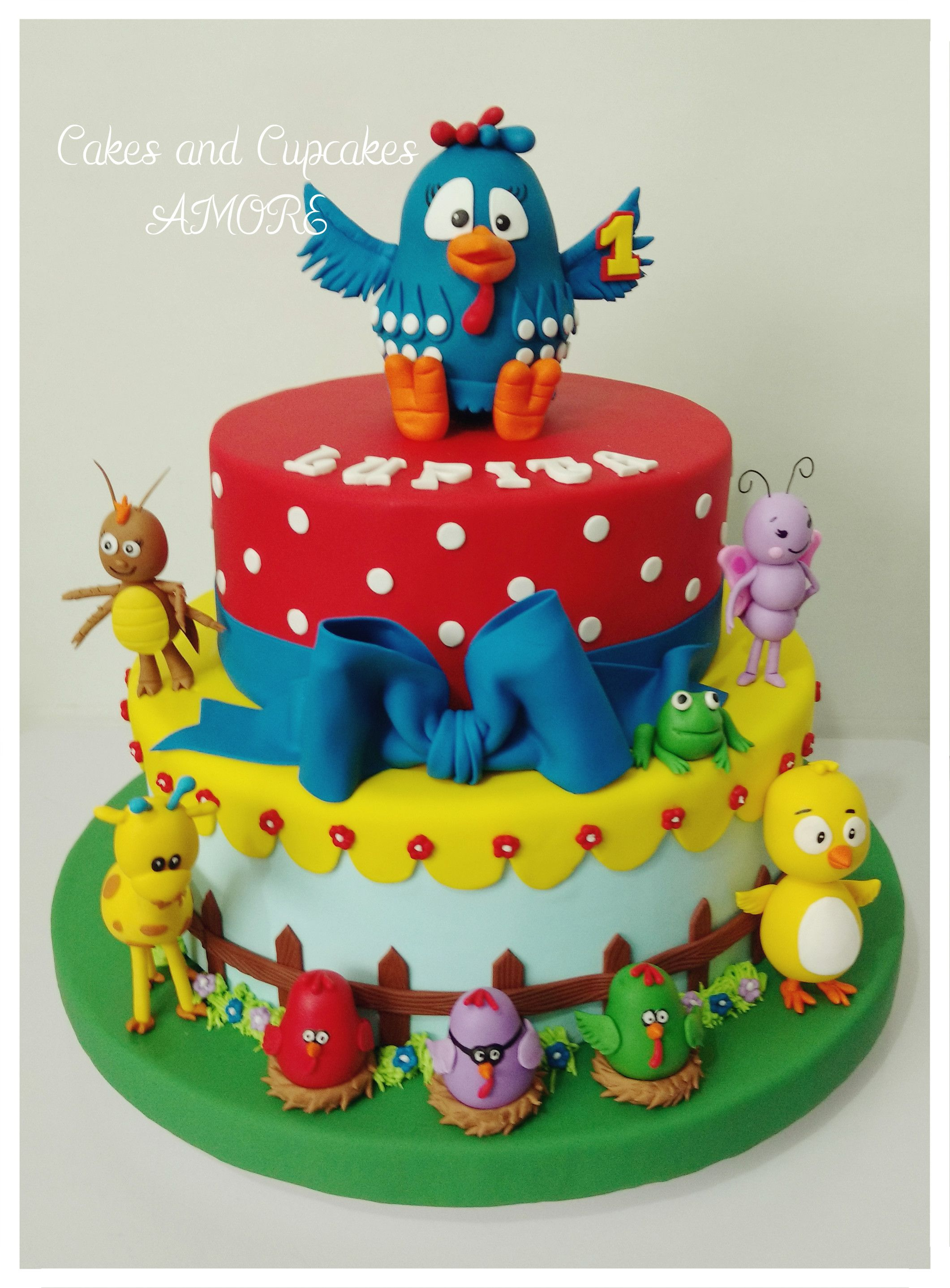 Torta Gallina Pintadita | tortas | Pinterest | Gallinas, Tortilla y ...