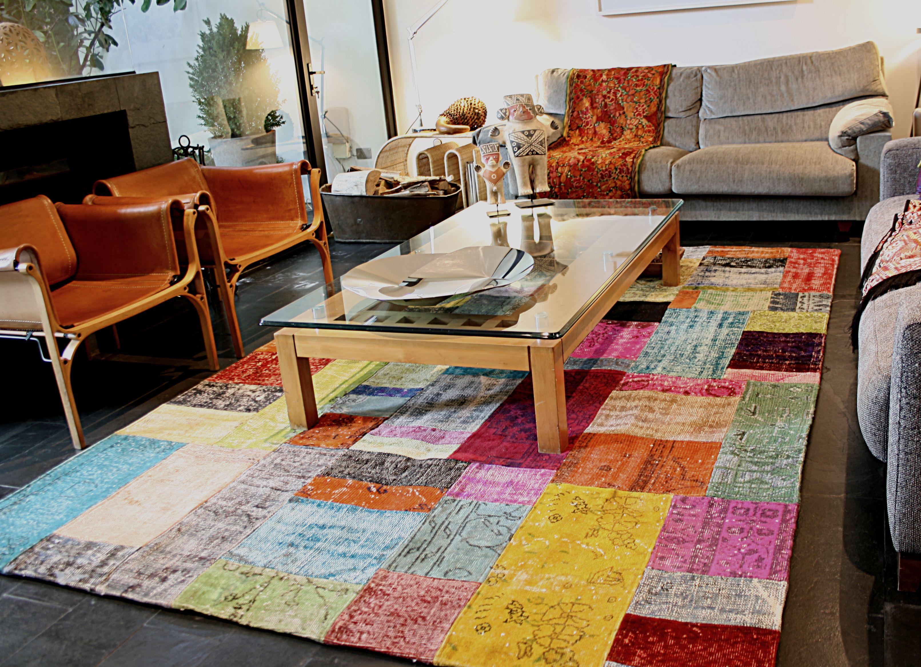 Alfombra Patchwork Turco Textiles En 2019 Alfombras