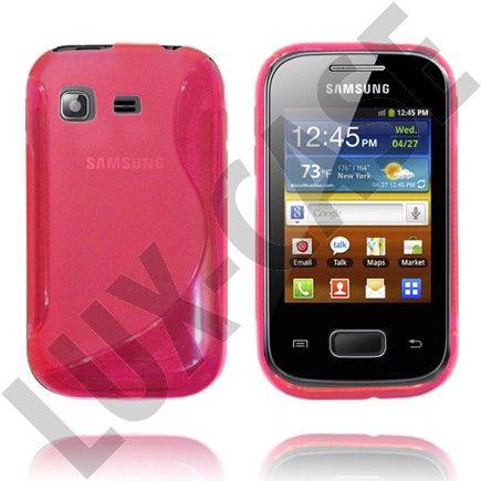 Pink Samsung Galaxy Pocket Suojakotelo
